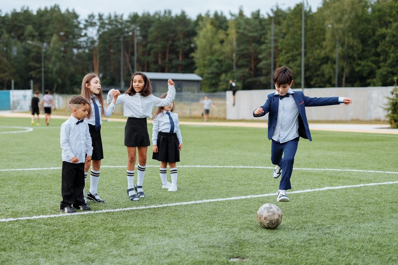 School Kids Soccer